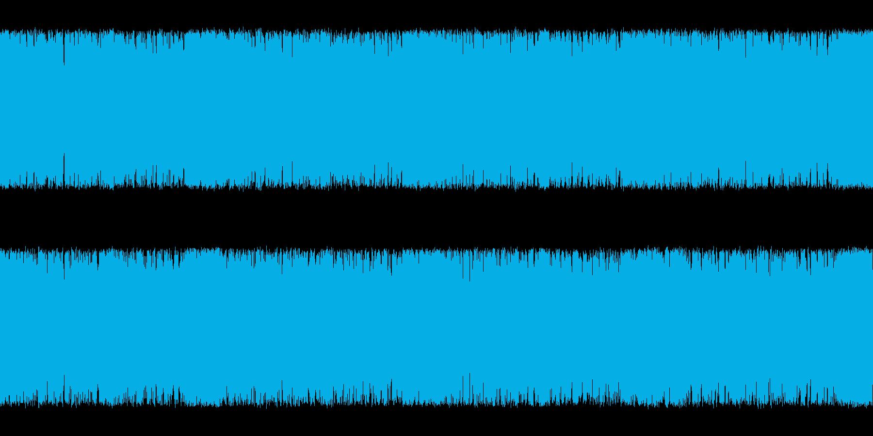 物悲しさ溢れるメタルギター系の曲<短い…の再生済みの波形