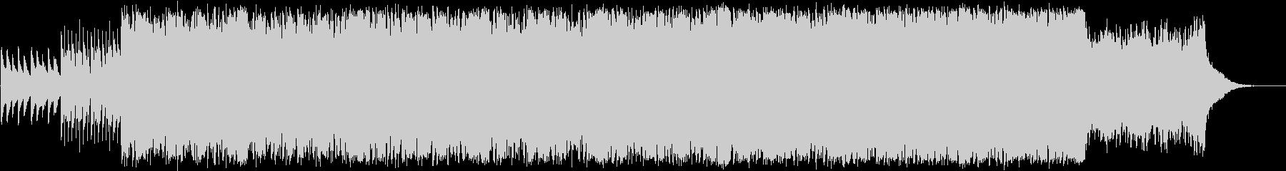 ピアノと歌声が神秘的なミニマルエレクトロの未再生の波形