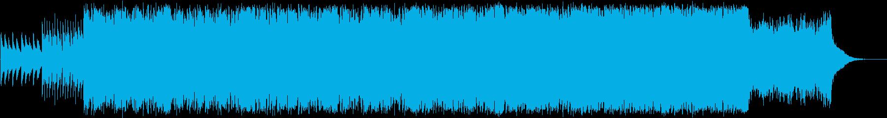 ピアノと歌声が神秘的なミニマルエレクトロの再生済みの波形