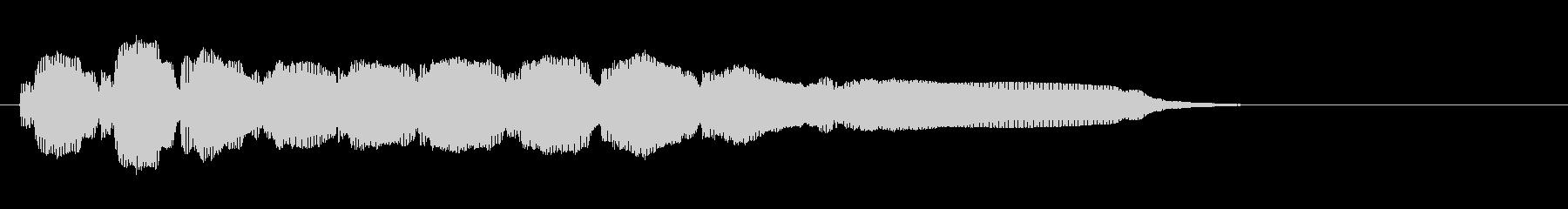 エレキギター4弦チューニング2リバーブの未再生の波形