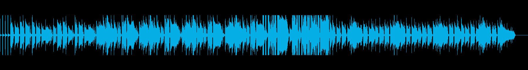 エンディングにぴったりなギターインストの再生済みの波形
