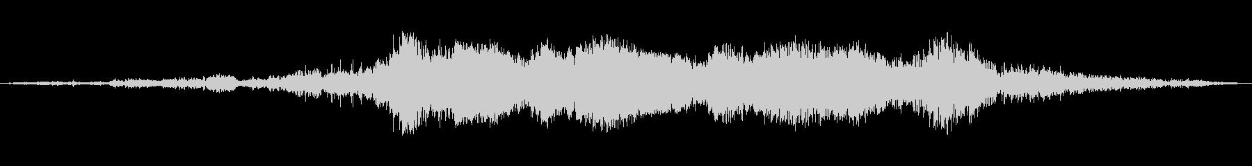 AVALANCHE:重度のデブリフ...の未再生の波形