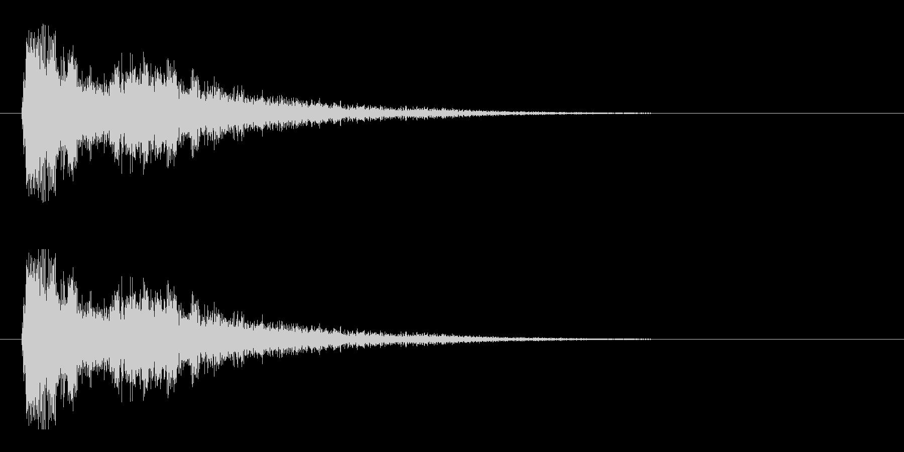 レーザー音-05-3の未再生の波形