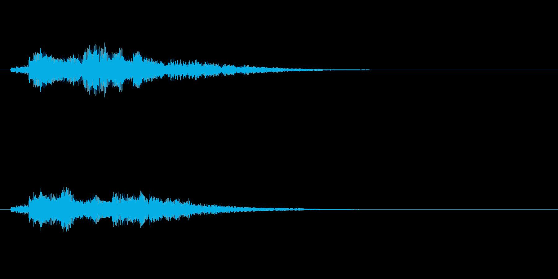 爽やかなギターサウンドロゴ の再生済みの波形