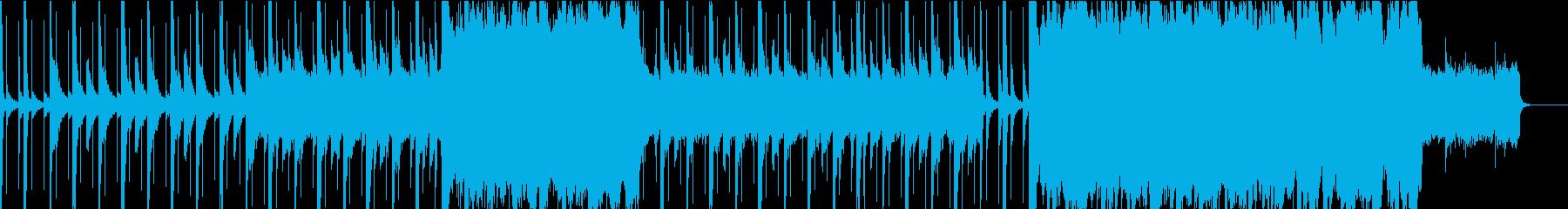 --チルアウト--エモいR&B、TRAPの再生済みの波形