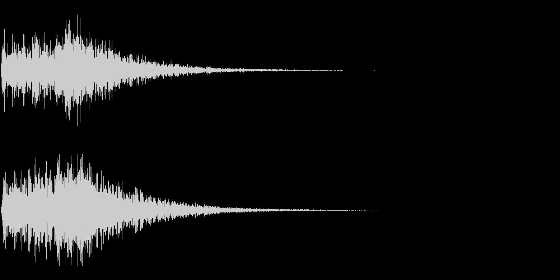 Dark_Attack-32_Delayの未再生の波形