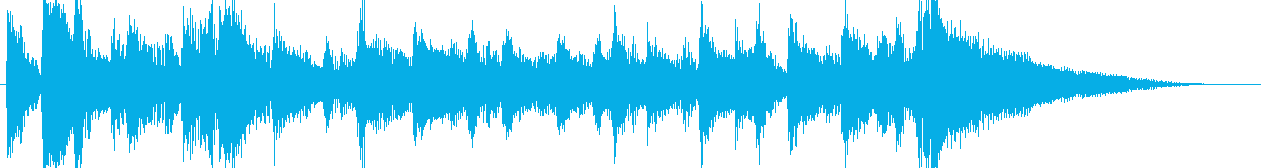 短いのん、マイナーフォークのんの再生済みの波形