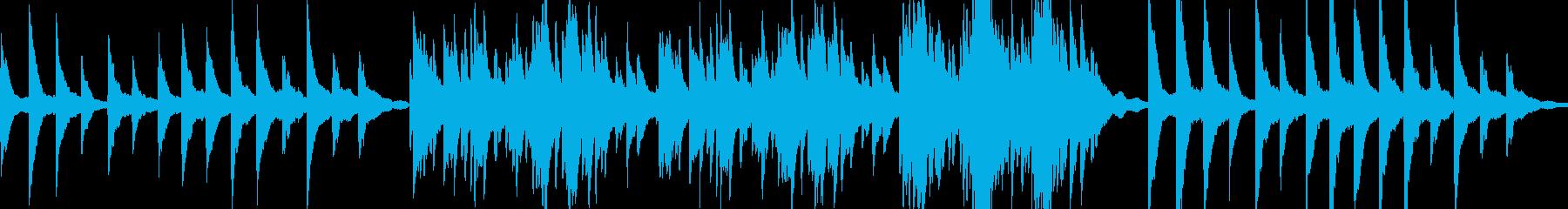 ゆったりと静かなピアノソロ の再生済みの波形