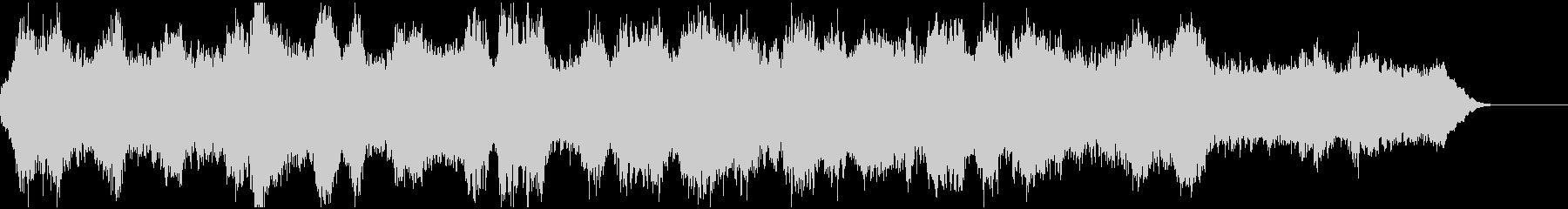 二胡と管弦楽による神秘的なBGMの未再生の波形