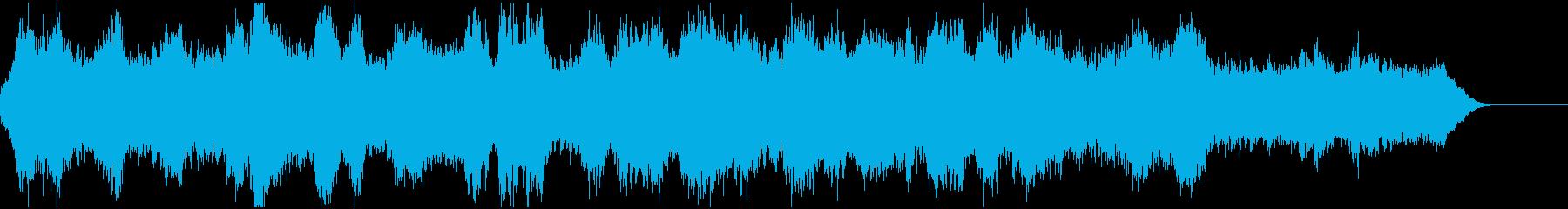 二胡と管弦楽による神秘的なBGMの再生済みの波形