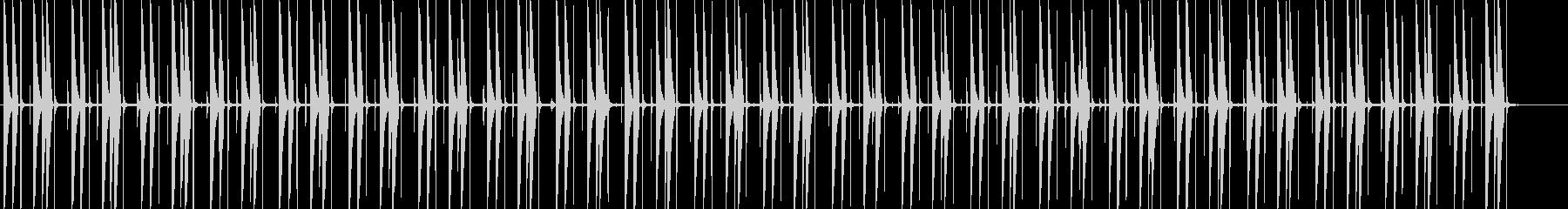 ファンキーなコンガビートの未再生の波形