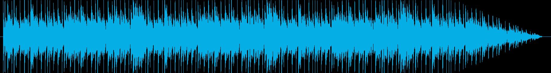 キャッチーな歌、ポジティブ。の再生済みの波形