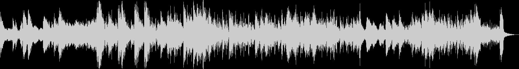往年のジャズとエレクトロビートの融合の未再生の波形