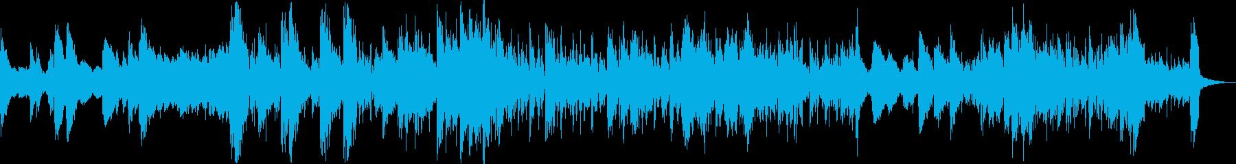往年のジャズとエレクトロビートの融合の再生済みの波形
