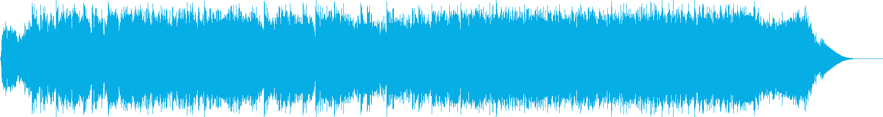 ダークファンタジーオーケストラ戦闘曲58の再生済みの波形