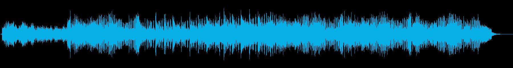 爽快でポジティブなアコースティック曲Bの再生済みの波形