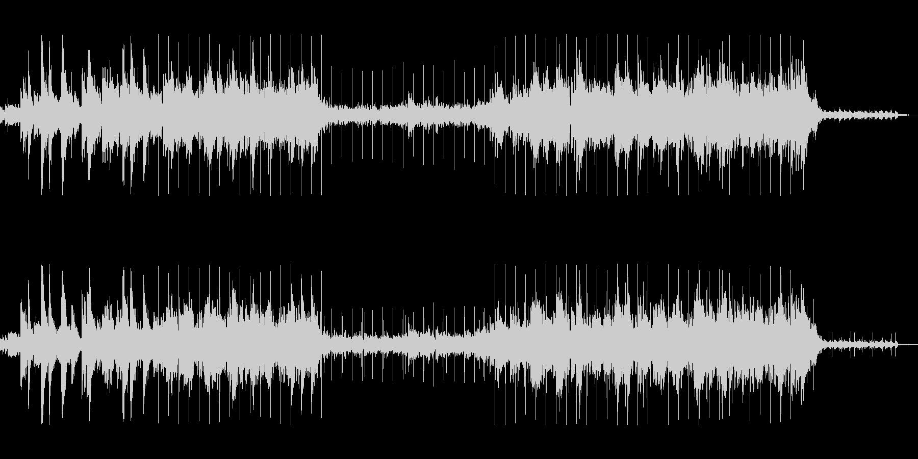 秋のローファイリラックスビートの未再生の波形