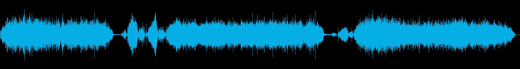 リール芝刈り機:切断;クローズアッ...の再生済みの波形