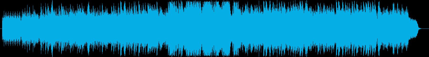 切なく繊細なピアノにストリングスバックの再生済みの波形