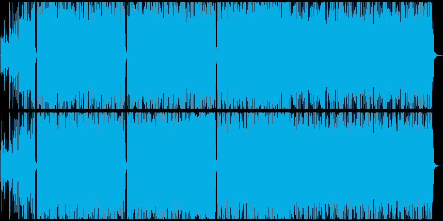 爽やかで軽快なBGMですの再生済みの波形