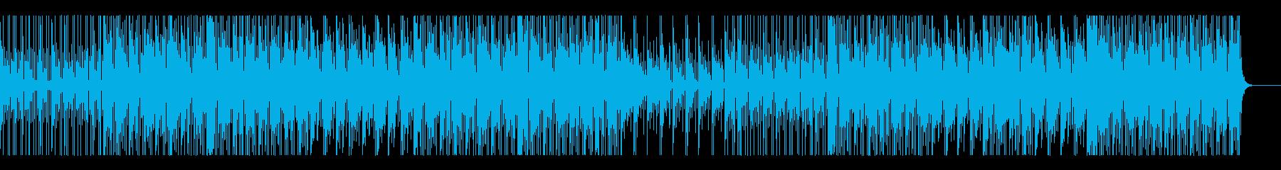 サックス、大人の夜の雰囲気、HIPHOPの再生済みの波形