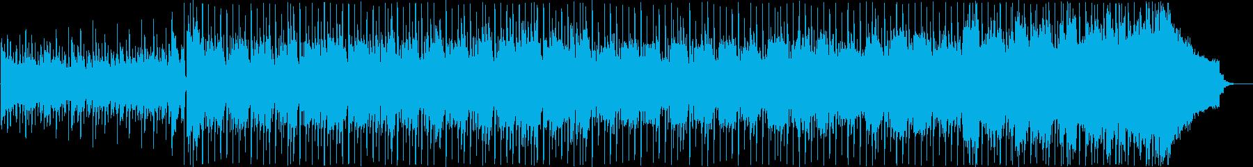 おしゃれな映像に合うシンセポップの再生済みの波形
