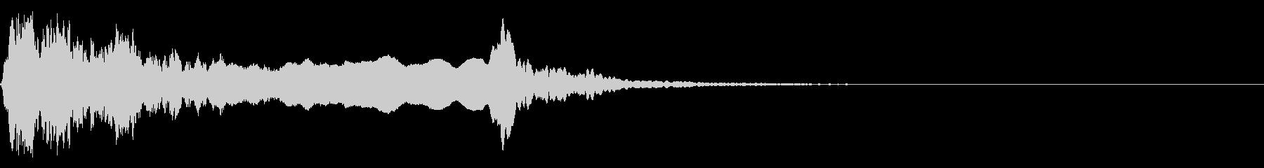 和風な歌舞伎の笛(能管)効果音です♪02の未再生の波形