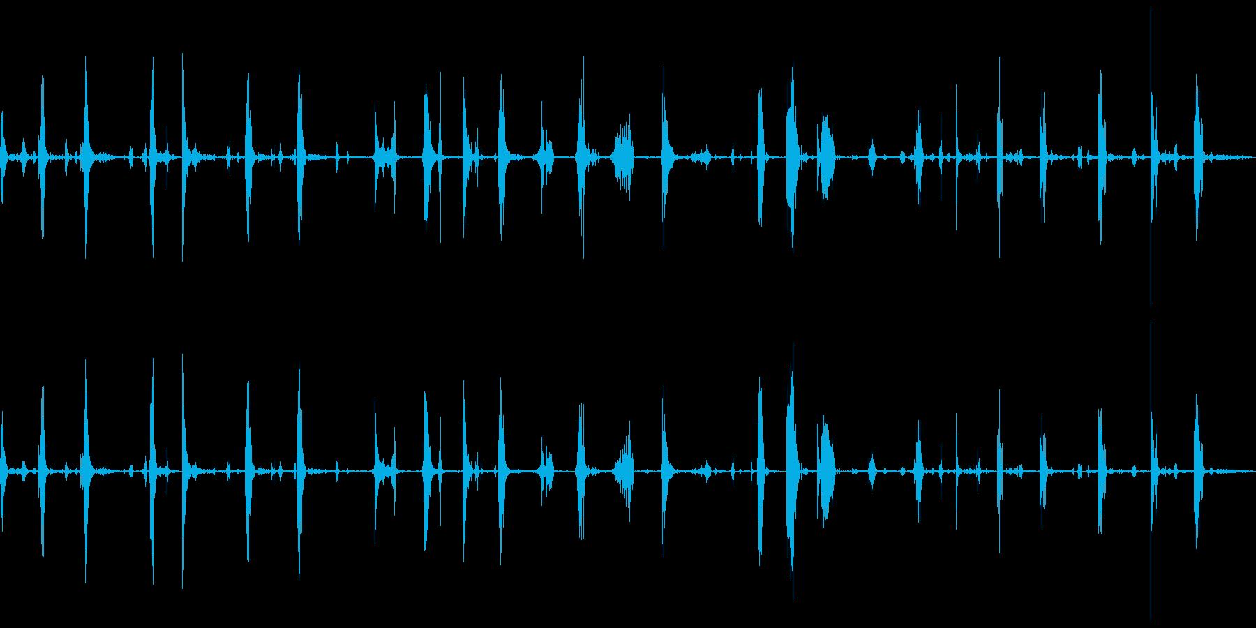 ショールスノーとメタルショール、掘...の再生済みの波形