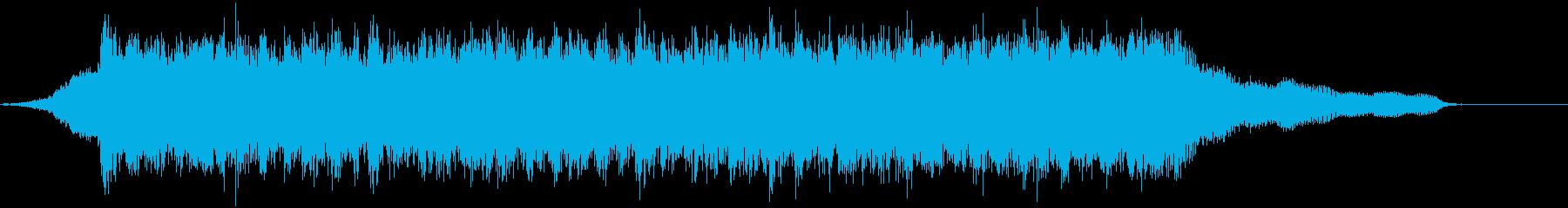 企業VP映像、110オーケストラ、壮大cの再生済みの波形