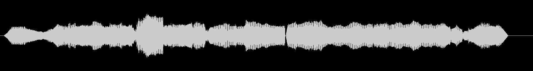 グラスホッパーウグイスの未再生の波形