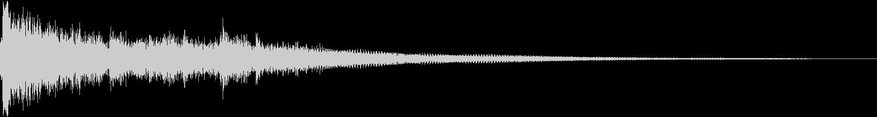 Gorgeous, light, acoustic, fashionable, jingle's unreproduced waveform