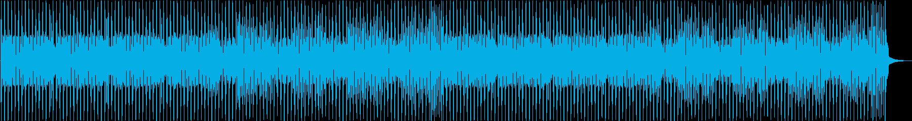 お茶目で愉快なYouTubeオープニングの再生済みの波形