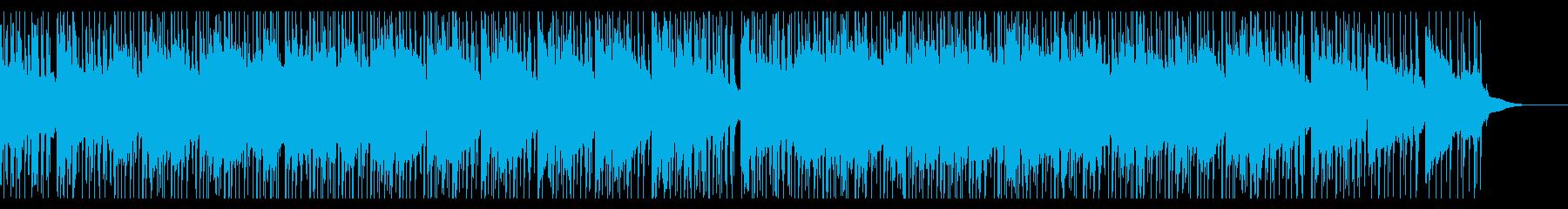 儚げなローファイ・ヒップホップの再生済みの波形