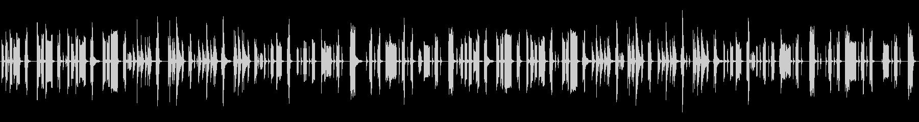 脱力系5の未再生の波形