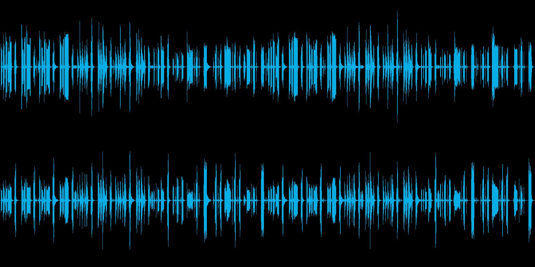 脱力系5の再生済みの波形