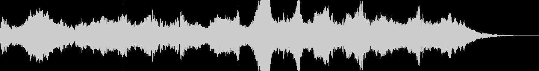 チェロが印象的なBGMの未再生の波形