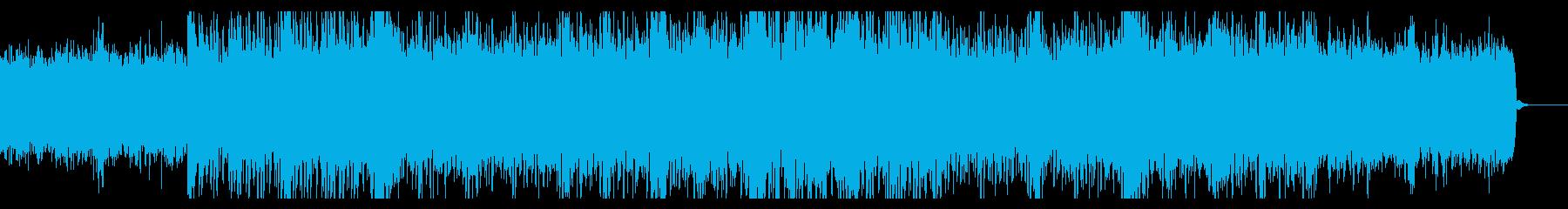 なにか始まりそうなシネマティックBGMの再生済みの波形