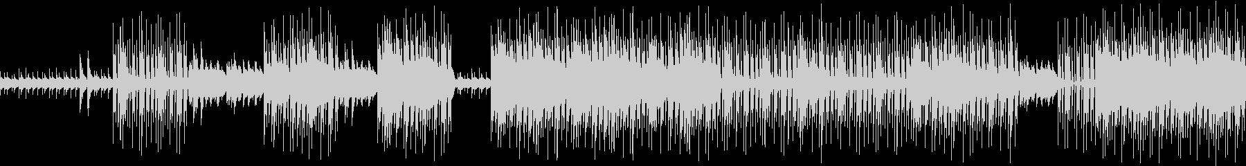 現代音楽風(ミニマル)ダークなトラックの未再生の波形