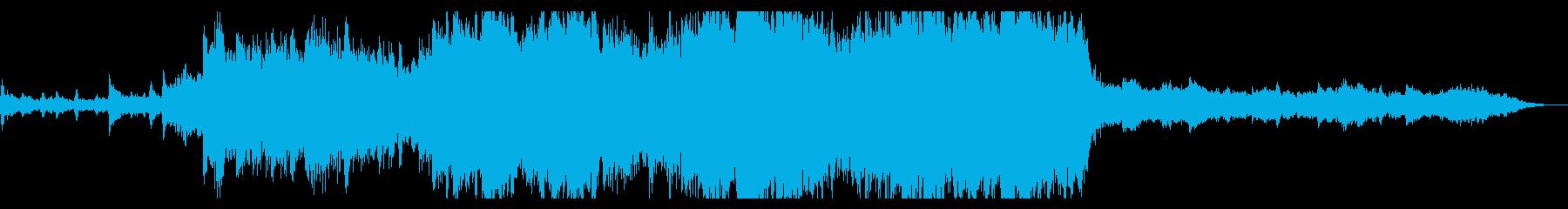 Sky Blue 60秒の再生済みの波形