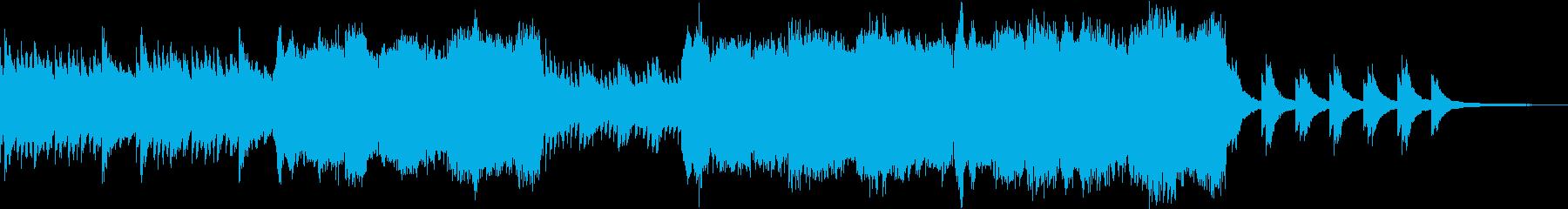 暖かくノスタルジックなクラシックの再生済みの波形