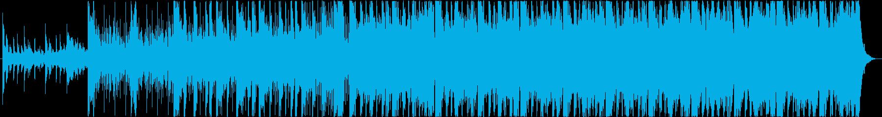 Experimental trackの再生済みの波形