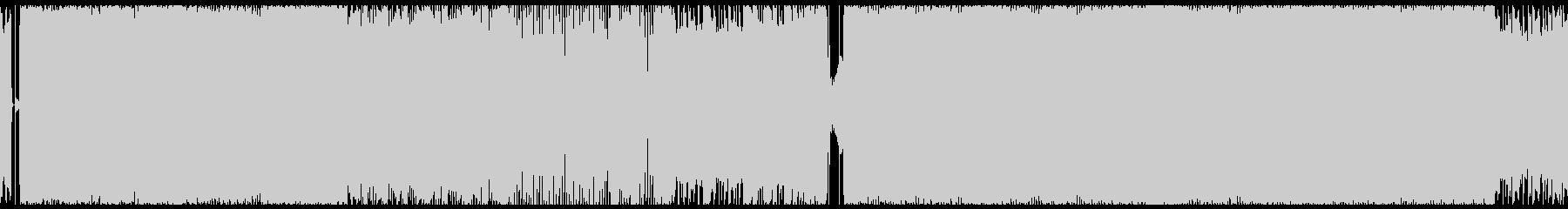 軽快なパーティーロック(ループ)の未再生の波形