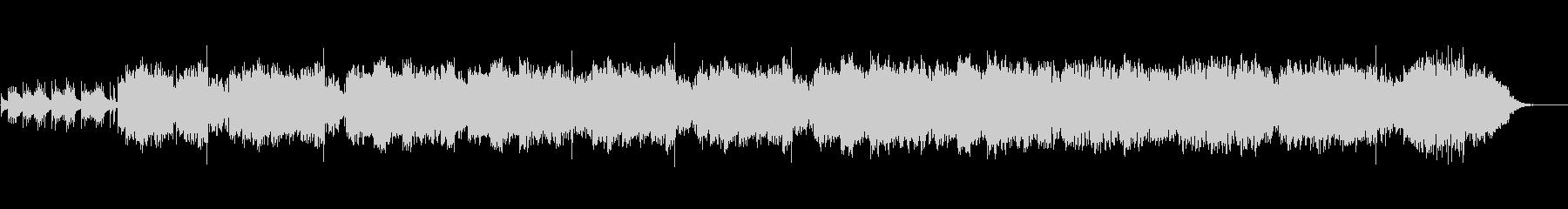 尺八琴三味線を使った和風オリジナル曲の未再生の波形