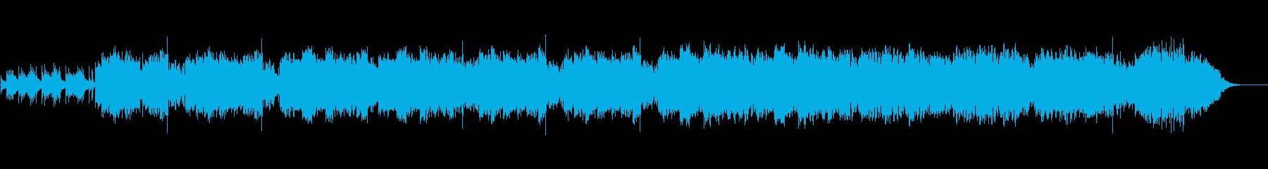 尺八琴三味線を使った和風オリジナル曲の再生済みの波形