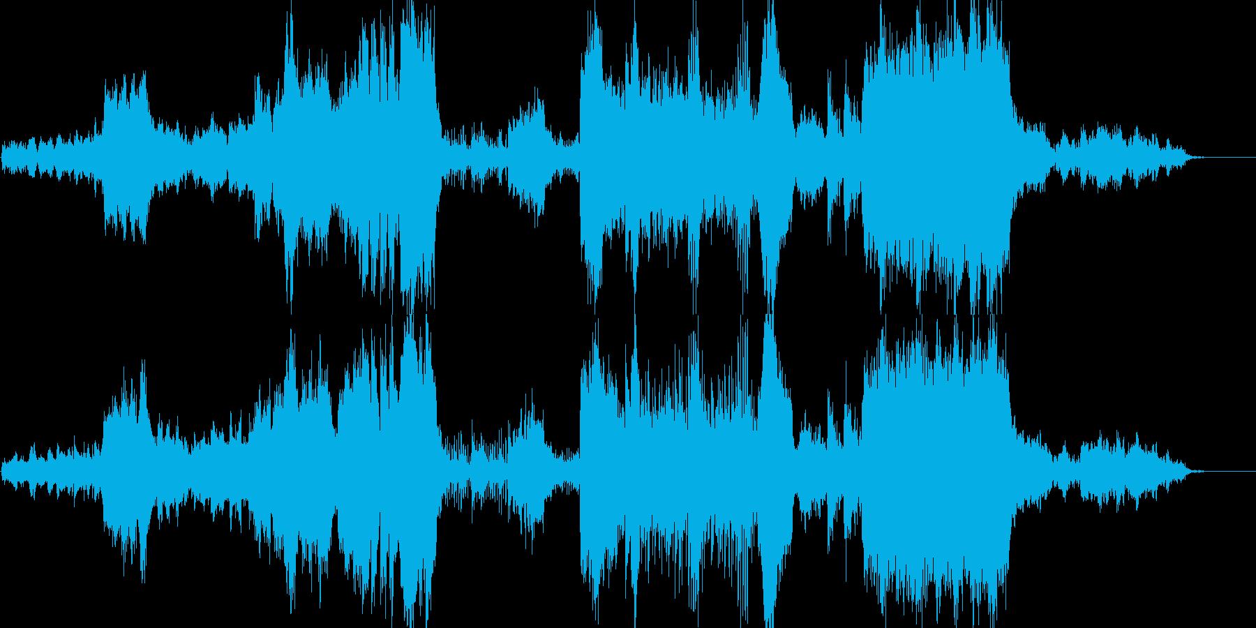 ファンタジー系感動&壮大なオーケストラの再生済みの波形