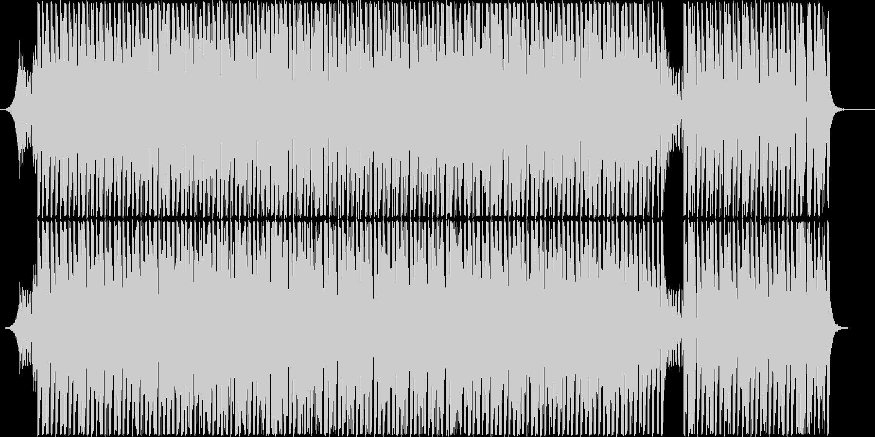 情熱的なグルーヴィーなラテンハウスの未再生の波形