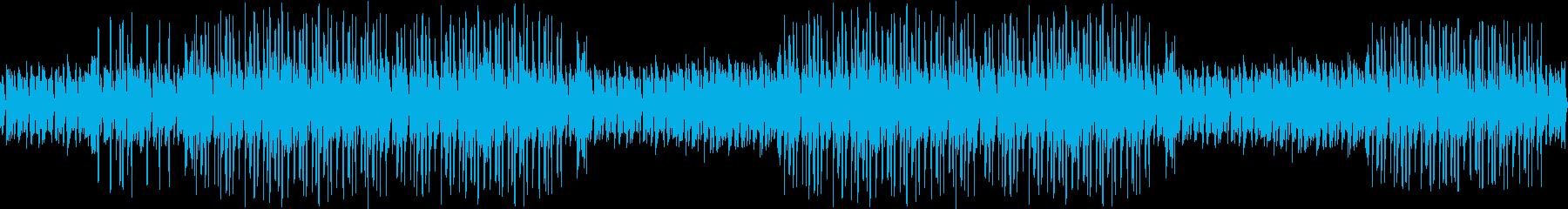 ジャズピアノ・お洒落・大人・綺麗・ループの再生済みの波形