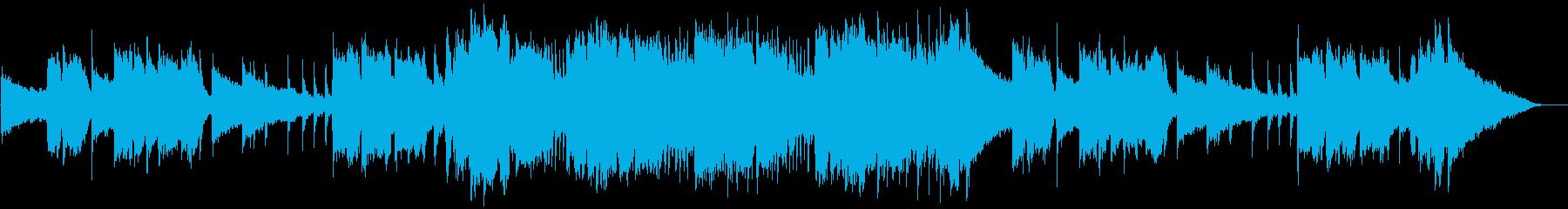 エンディング・穏やかなアコギポップスの再生済みの波形