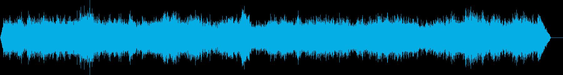 大規模な博物館-声の再生済みの波形