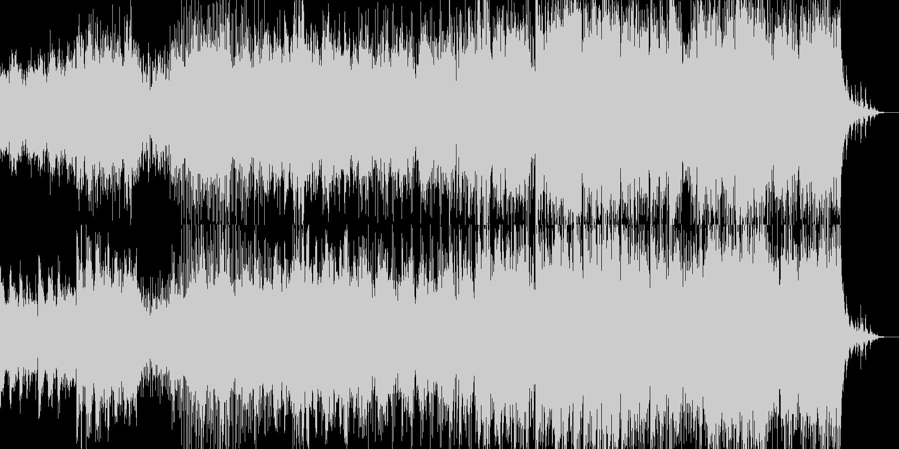 やさしいポップインストーPuzzleの未再生の波形